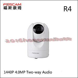 Foscam-R4-HD-1440P-4-0MP-Cloud-IP-Camera-TF-Storage-8x-Digital-Zoom-WHITE