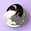 miniature 5 - Cat Pin Badge Brooch Gift White Black Grey Trio Enamel Jewellery Cat Lover Lady
