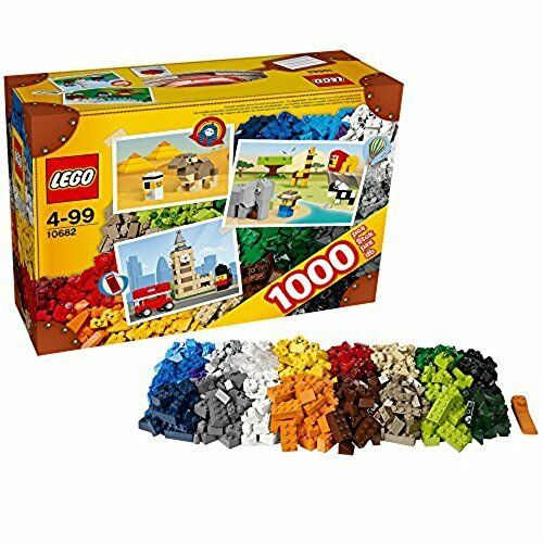 LEGO Young Builders Bricks & More Set #10682 Creative Suitcase