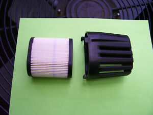 Air Filter and Filter Cover replaces Tecumseh # 37122 and 36905 :