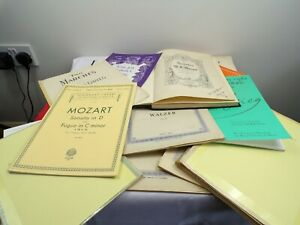 Bundle Of Classical sheet Music Approx 3 Kg see images for titles