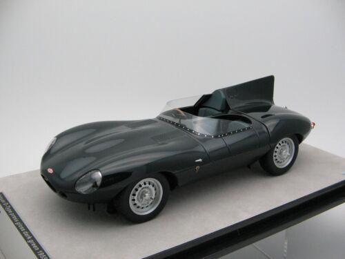 1//18 scale Tecnomodel Jaguar D-Type Press British Racing Green 1955 TM18-157D