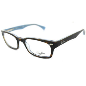 8a445d0fd7 Ray-Ban Glasses Frames 5150 5023 Top Havana On Transparent Azure ...