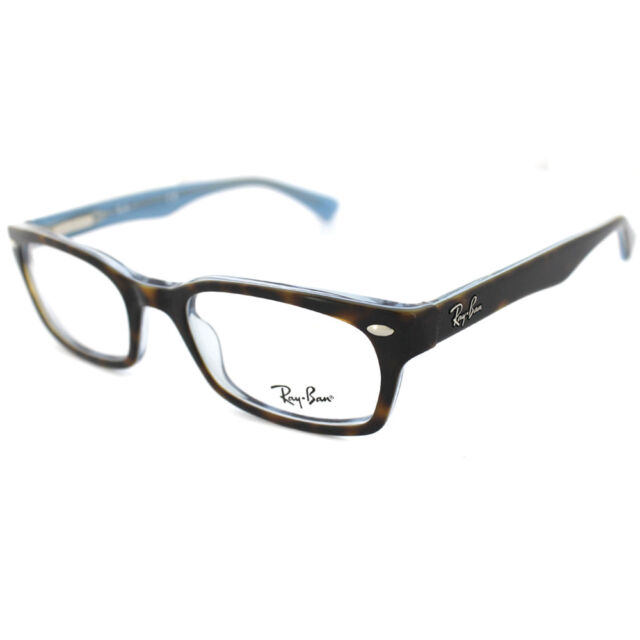 9b2266a014 Ray-Ban Glasses Frames 5150 5023 Top Havana On Transparent Azure