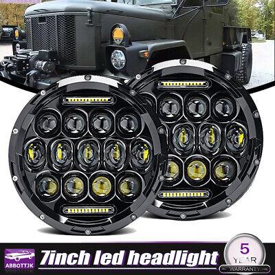 2 HMMWV M939 Humvee M998 M35A2  M151 HEADLIGHT 24 VOLT 8741491  Military Truck