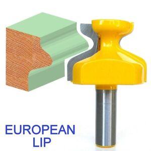 1 pc 1/2 SH Door Edge Reversible European Finger Pull Lip Router Bit S