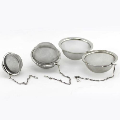 Stainless Steel Tea Infuser Spice Tea Ball Strainer Coffee Filter Kitchen Tools