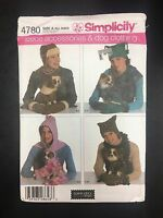 Simplicity 4780 Misses' Accessories & Dog Clothing In Three Sizes