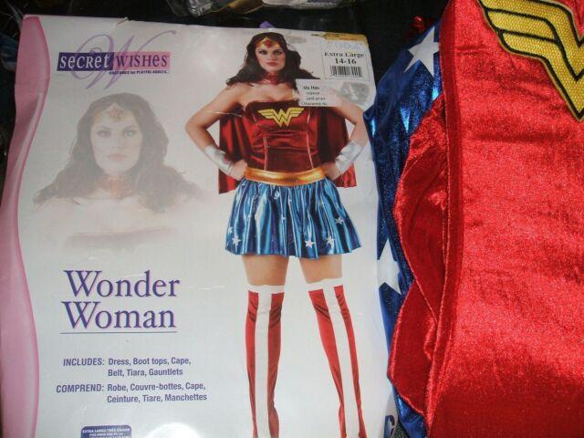 Justice League Corset Costume Adult Womens Superhero Halloween