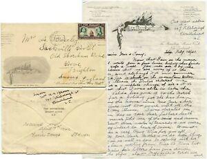 New Zealand 1941 Hermitage Hotel Illust Letter Env Ski Motor Car Mount Cook Ww2 Ebay