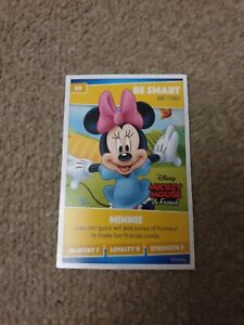 Number 88 Minnie MouseSainsbury/'s Disney Heroes 2019 Collector Card
