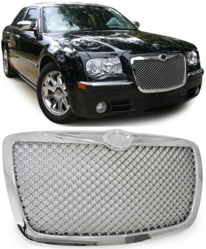 Calandre Grille dans Bentley Design en Nid D/'Abeille Chrome pour Chrysler 300c
