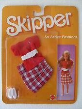 skipper abiti tempo libero dress active fashions mode s kleid dol 1985 NRFB 2234