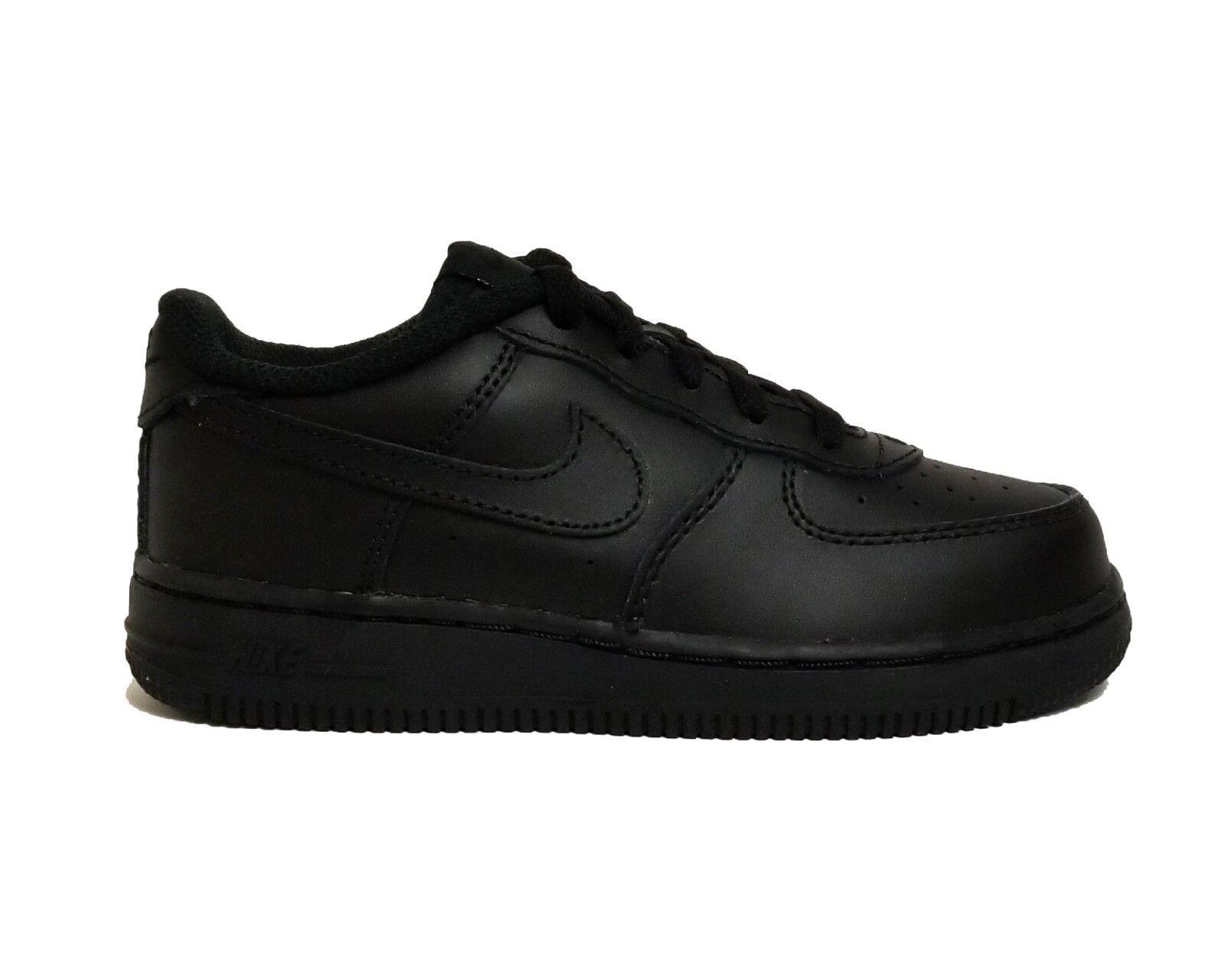 Kids Nike Air Force 1 Low TD Black 314194 009 US 7c
