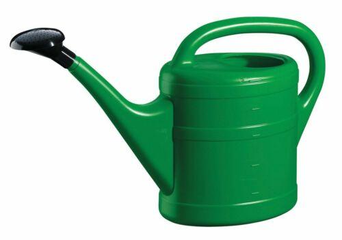 5 litri robusto Eco friendly in plastica leggera Verde Annaffiatoio Con Rosa
