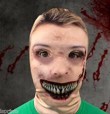 Rubia Zombi  alfanum  EFECTO Cara Piel Máscara de Lycra Halloween GRIM REAPER