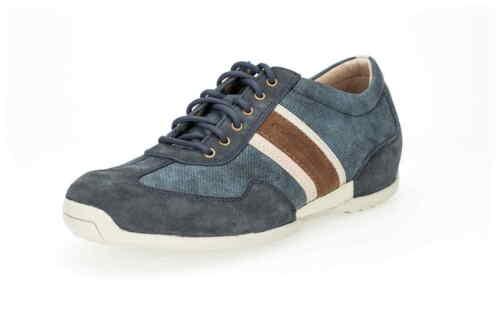 Camel active Voilure Space jeans bleu Nubuk Cuir 13735 02 Sneaker de dépôt