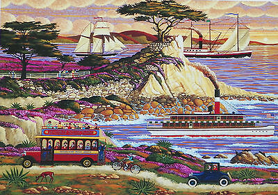 PUZZLE ..HERONIM.......Lone Cypress......1000.....Nvr opned