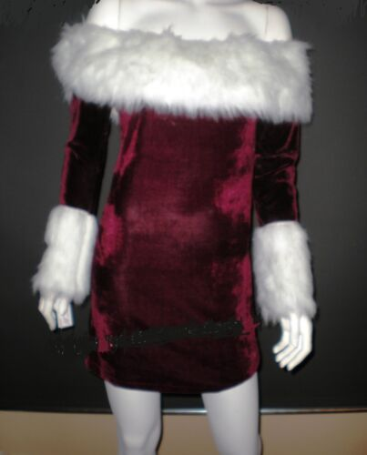 CHRISTMAS COSTUME MISS SANTA CLAUS OUTFIT Christmas Woman ELF LADIES Fancy Dress