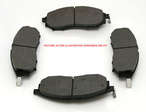 4 Front Brake Pads For Mitsubishi Delica P35W 2.5TD 1988-1996 IMPORT