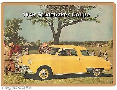 Tool Box Magnet 1952 Studebaker Starliner Auto Car Refrigerator