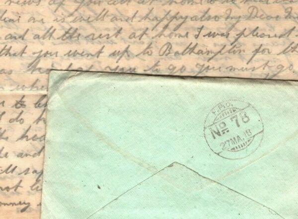 Diligent L'irak Ww1 Couverture Inde * Fpo 78 * Somerset Light Infantry 1918 Soldat Lettre Mal13 Couleurs Harmonieuses