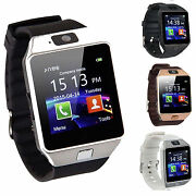 DZ09 Bluetooth Smart Watch Phone + Camera SIM Card For Android IOS Phones