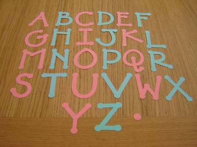 LARGE ALPHABET LETTER  DIE CUT SELECTION CHOOSE YOUR OWN!