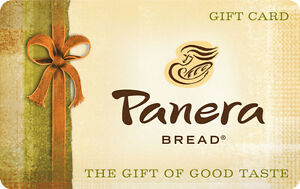$10 / $25 Panera Bread Gift Card - Mail Delivery | eBay
