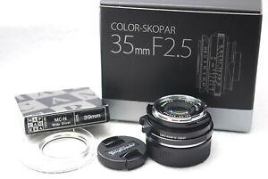 VOIGTLANDER-COLOR-SKOPAR-35mm-F2-5P-II-VM-MF-Lens-for-Leica-M-Japan-i89
