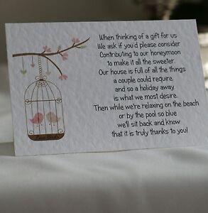 Wedding-Poem-Cards-money-cash-gift-choice-of-4-poems-birdcage