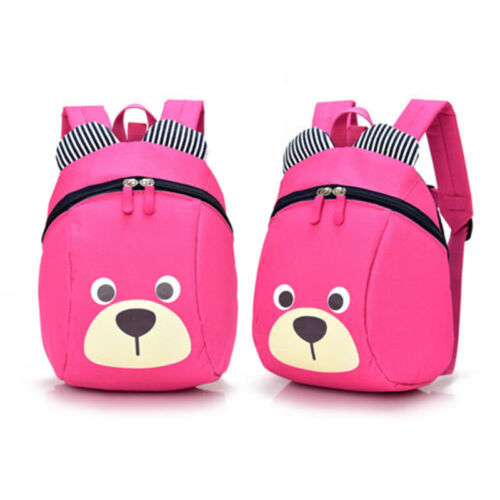 Kids Bear School Backpack Cartoon Bag Toddler Children Baby Shoulder Anti Lost