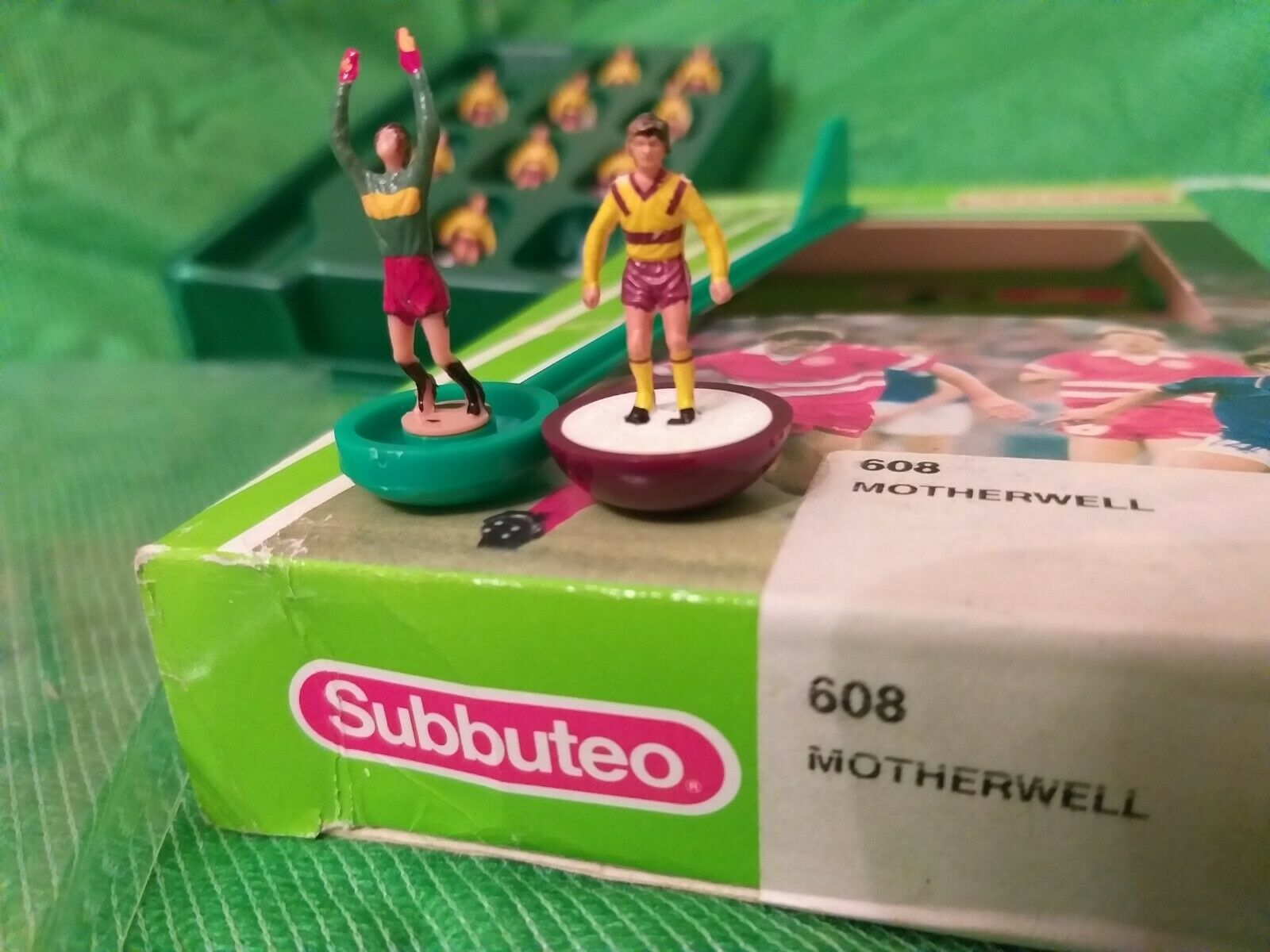 LW SUBBUTEO TEAM MOTHERWELL REF 608 IN EXCELENT CONDITION VERY RARE