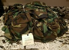 (2) NEW US Army Woodland Camo Alice LC II Rucksack Pack/Spare Tire Cover