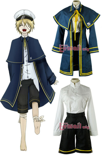 Vocaloid 3 Oliver Default Naval Uniform Cosplay Costume any size