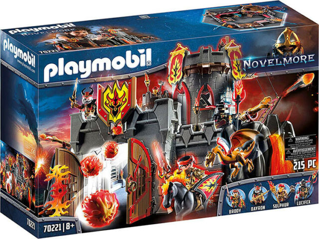Playmobil Novelmore - Burnham Raiders Fortress 70221 (for Kids 8 years and up)