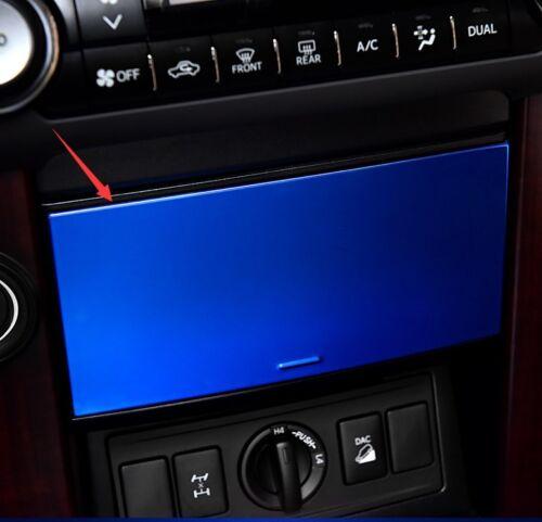 Blue Interior Central panel decoration Trim For Toyota Prado FJ150 2010-2016