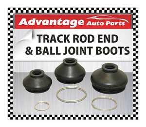 VAUXHALL-ASTRA-Mk-IV-Track-Rod-End-and-Ball-Joint-Dust-Cap-Cover-Boot-Medium-x2