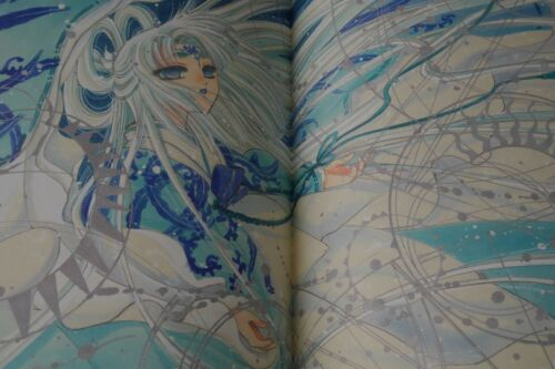 """JAPAN CLAMP X Illustrated Collection /""""X Zero/"""" Art Book"""