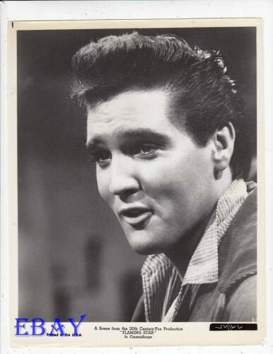 Elvis Presley Flaming Star VINTAGE Photo