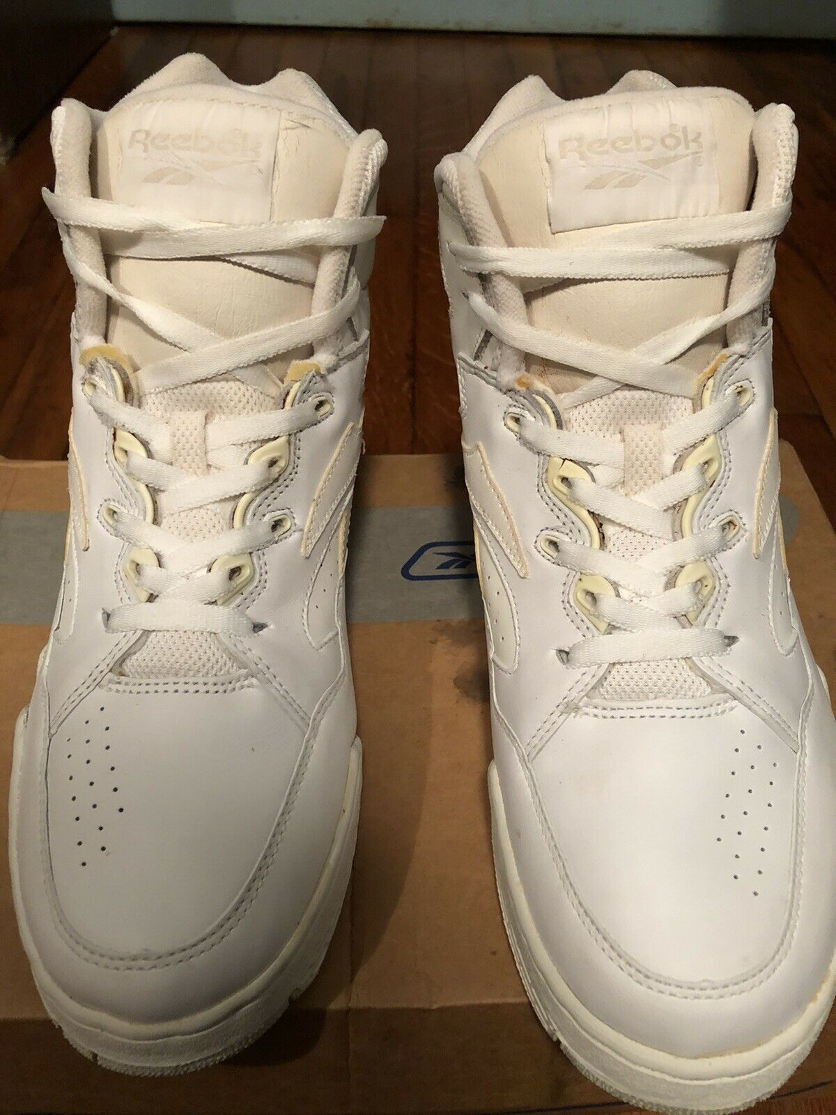 White And Natural Reebok Sneakers - image 2