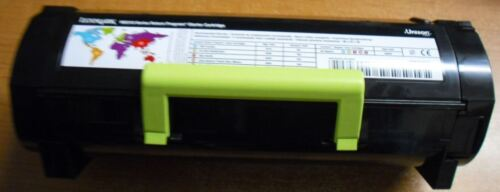 10 Virgin Genuine Empty Lexmark MS310 MS410 MS510 Toner Cartridges FREE SHIP 500