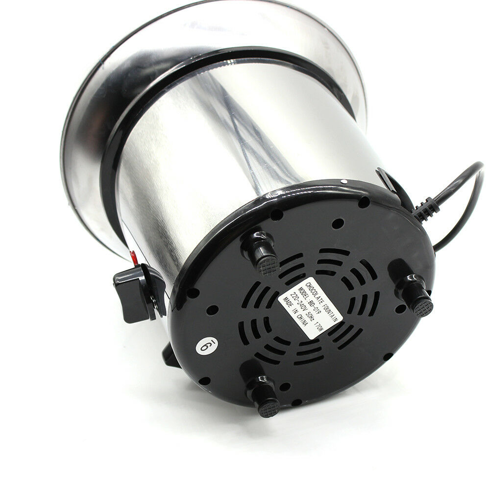 4-Tier Chocolate Fountain Electric Warmer