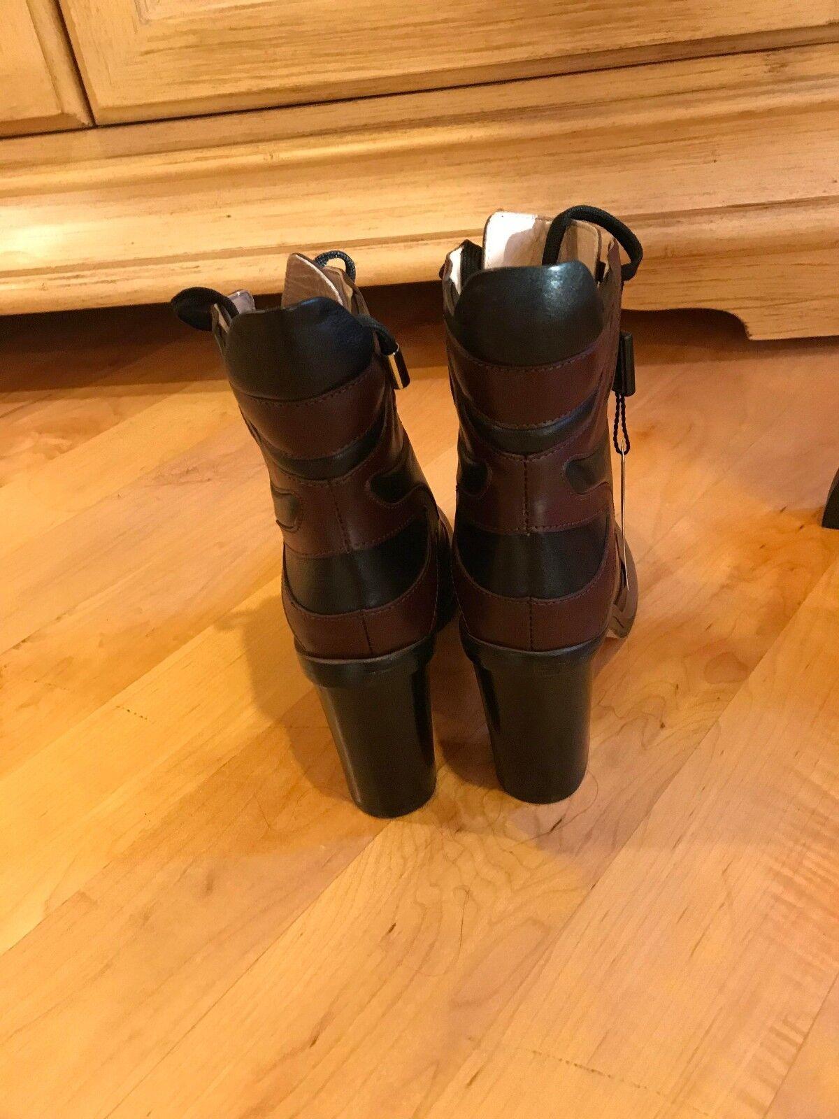 Damenschuhe Cavallini Leder Hand Made in  Ankle Stiefel 6 Größe 6 Stiefel NEW d97e99