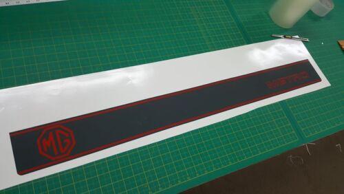 Austin MG Metro 1300 tailgate stripe /& decals restoration stickers