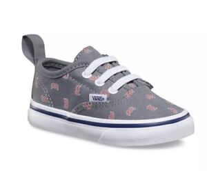 4419618409d2 NWT Toddler MLB Authentic V Elastic Lace Vans BOSTON RED SOX ...