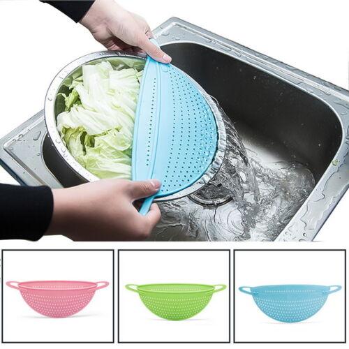 US 1Pcs Colanders Plastic Pot Drainer Strainer Tools Kitchen Draining for