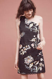 40c9e6325ee9 Image is loading NWT-168-Anthropologie-Ashbury-One-Shoulder-Dress-by-