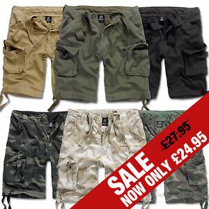 84242867ec8c Detalles de Para Hombre Casual Estilo Militar Ejército Camo combatir  Pantalones cortos estilo cargo brandit Leyenda Urbana- ver título original