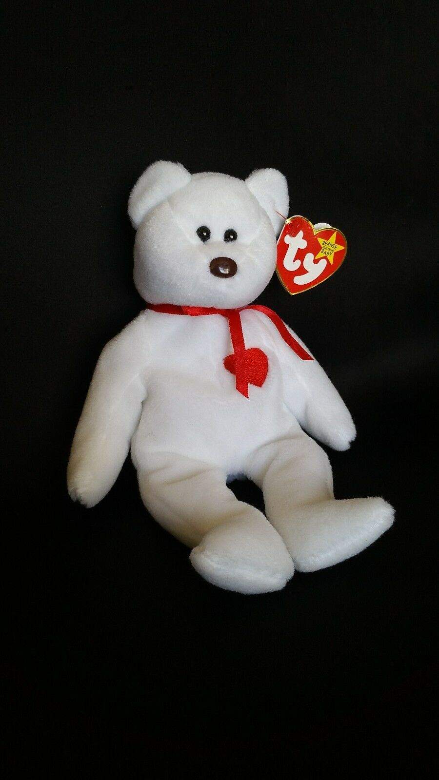 Ty beanie baby valentino - mwmt 5.   6. gen tags origiinal p.v.c.